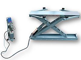 Ножничный подъемник для стапеля Siver H
