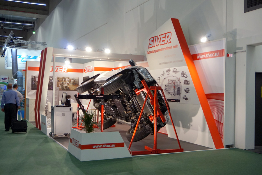 SIVER stand  at the international exhibition Automechanika Frankfurt 2016
