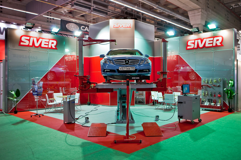 Nobel electronic measuring system Siver Data was introduced at Automechanica in Frankfurt
